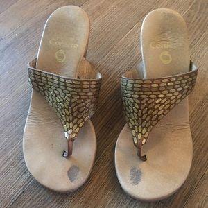 Colleen Cordero sandals